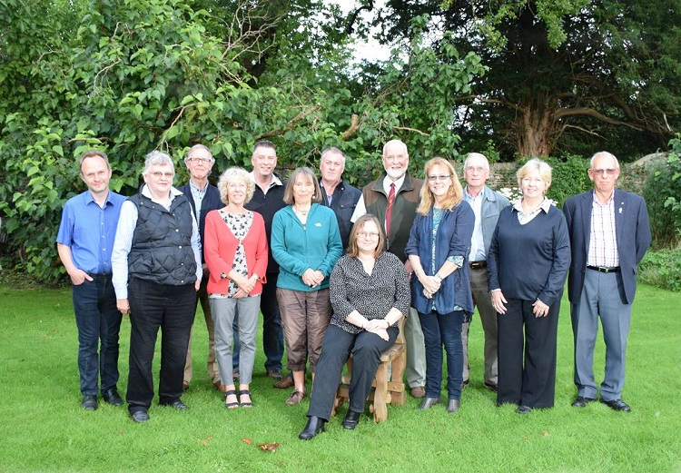 Parish Councillors August 2015 (two absent)