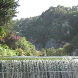 Cheddar Parish Council - Cox's Mill Waterfall
