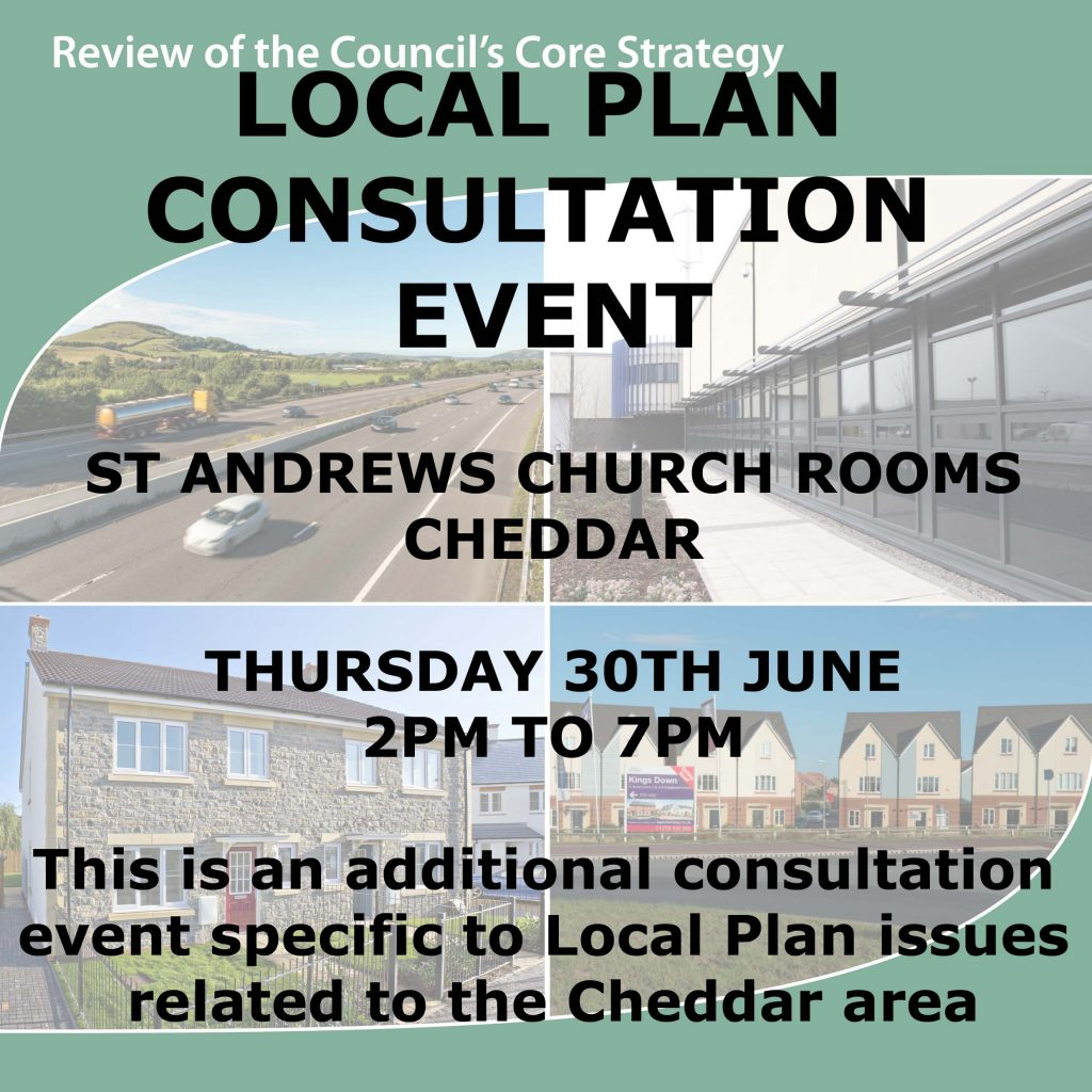 Local plan poster Cheddar 2 copy