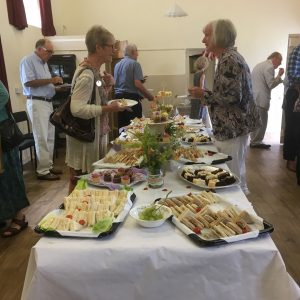 Refreshments in Hannah More Cottage - Garden Party 2017